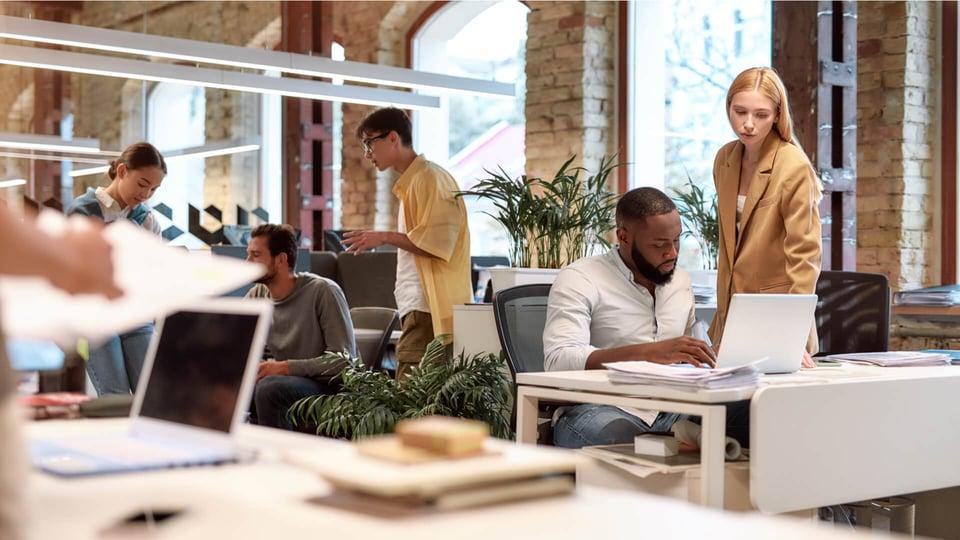 Digital workplace: migliorare l'ufficio grazie ai dati con MYSPOT